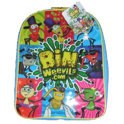 Bin Weevils Junior Backpack Childs Kids Rucksack School Nursery Bag