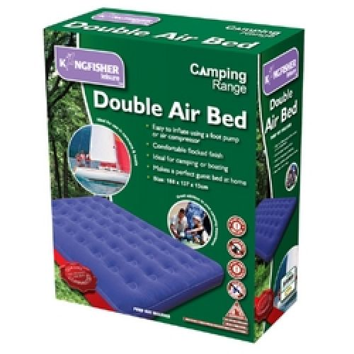 Double Inflatable Air Bed Guest - Ideal for Camping & Sleepovers